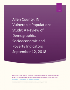 Vulnerable Populations Study Cover